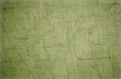 Green cracked background - stock photo