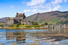 Eilean donan castle Stock Photos