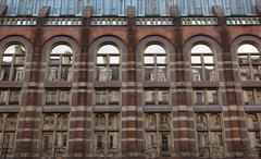 Old building in centre of london. uk. Stock Photos