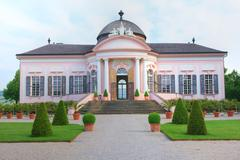Garden Pavilion At Melk Abbey Lower Austria Stock Photos