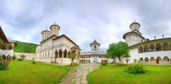 The Monastery Of Horezu Was Founded In 1690 By Prince Constantin Brancoveanu In Stock Photos
