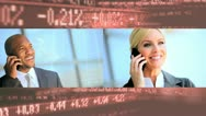 Montage Business People Stocks Shares Stock Footage
