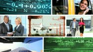 Montage Successful Multi Ethnic Business People Stock Footage