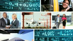 Montage Successful Business People Stock Footage