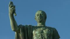 Aeroplane & Julius Caesar Stock Footage