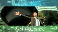 Montage Business People Celebrating Stock Market Success  Stock Footage