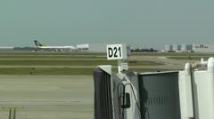 Dallas Forth Worth International Airport Texas USA Stock Footage