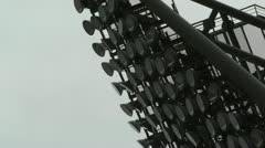 Stadium Ligths Stock Footage