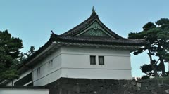 Tokyo Imperial Palace Stock Footage