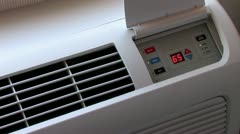 1080p Air Conditioner 5 Stock Footage