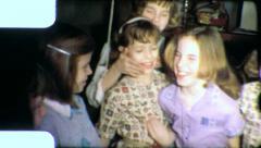 ALL BEST FRIENDS Girl Buddies Pals 1960s Vintage 8mm Film Home Movie 5022 Stock Footage