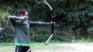 720p Archery 10 Stock Footage