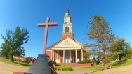 Stock Video Footage of Raley Chapel- Oklahoma Baptist University- Shawnee OK 4