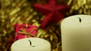 Stock Video Footage of advent candles2