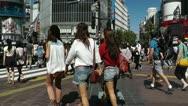 Stock Video Footage of Tokyo Shibuya Japan