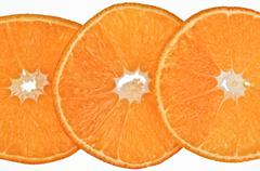 Fresh orange background Stock Photos