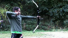 Stock Video Footage of 1440 Archery 10