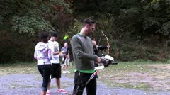 Stock Video Footage of 1440 Archery 16
