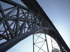 Metal bridge Stock Photos
