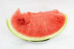 Fresh and ripe water melon Stock Photos