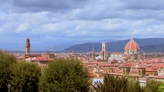 Florence time lapse Stock Footage