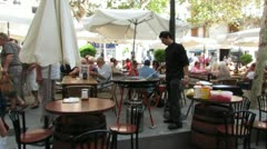 Nerja Town Square 2 Stock Footage