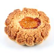 candied orange cookie - stock photo