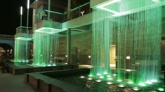 Cincinnati green fountains - stock footage