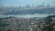 Bosporus pan shoot Stock Footage
