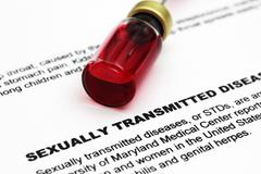 sexually transmitted disease - stock photo