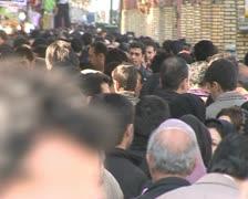Iran 11 Tehran market Stock Footage