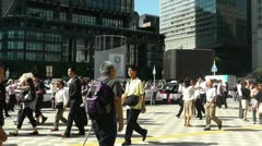 Tokyo Station exterior Japan Stock Footage