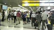 Tokyo Station Subway Japan Stock Footage