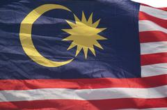 Stock Photo of malaysian flag