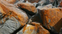 red rocks - stock footage