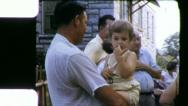 FARM FAMILY REUNION 1960 (Vintage Old Film 8mm Home Movie Footage) 5085 Stock Footage