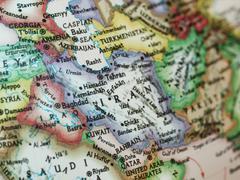 Irak Iran kartta Kuvituskuvat