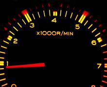 Car tachometer Stock Photos