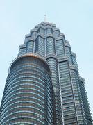 Petronas twin towers kuala lumpur Stock Photos