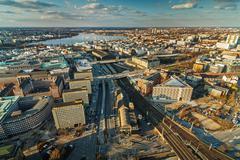 Hamburg City Stock Photos