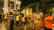 Stock Video Footage of Timelapse - Erawan temple in Bangkok