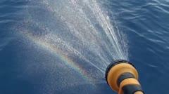 Rainbow effect Stock Footage