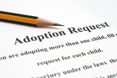Adoption request Stock Photos