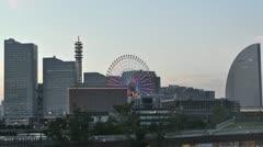 Yokohama Minatomirai Japan Stock Footage