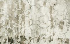 Old plaster on wall with cracks Stock Photos