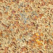 Seamless texture - surface of oxidized old iron sheet Stock Photos
