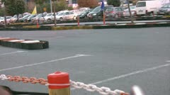 Go cart  race Stock Footage