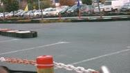 Go cart  race Stock Footage
