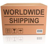 Worldwide shipping Stock Photos