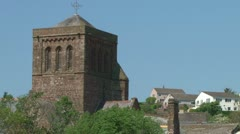 St Bees Priory Stock Footage